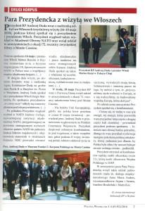Para prezydencka na Monte Cassino