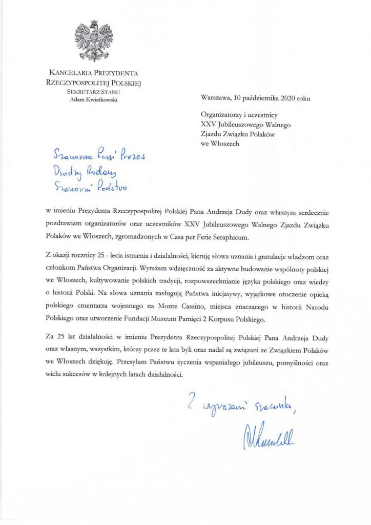 XXV Jubileuszowy Walny Zjazd Związku Polaków we Włoszech_page-0001