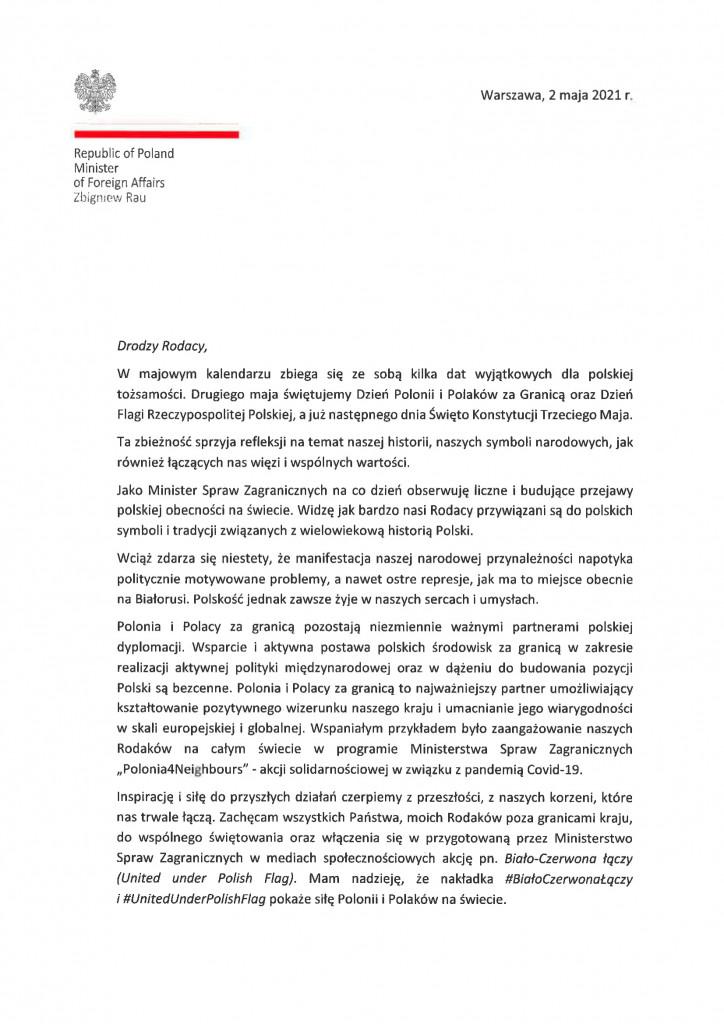 List 2 maja Polonia-1